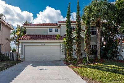 Boca Raton Single Family Home For Sale: 10656 Oak Lake Way