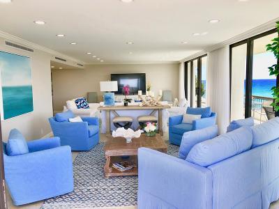 Palm Beach Condo For Sale: 2660 S Ocean Boulevard #504s