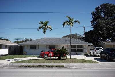 Palm Beach Gardens Single Family Home For Sale: 9482 Military Trail
