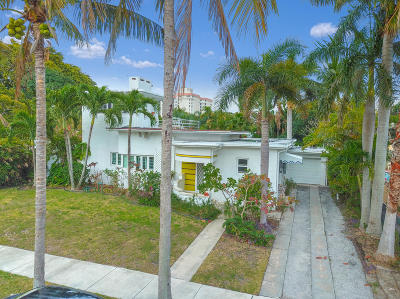 West Palm Beach Single Family Home For Sale: 140 Monroe Drive