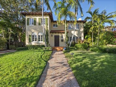 West Palm Beach Single Family Home Contingent: 227 Rugby Road