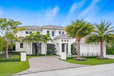 Boca Raton  Single Family Home For Sale: 252 S Silver Palm Road