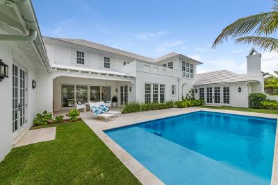 Palm Beach Single Family Home For Sale: 225 Arabian Road