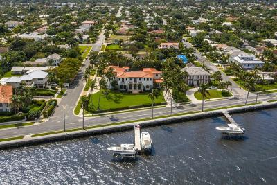 West Palm Beach Single Family Home For Sale: 6215 S Flagler Drive