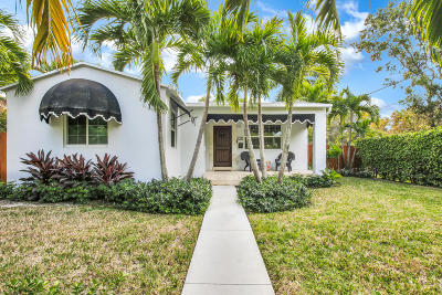 West Palm Beach Single Family Home For Sale: 620 Ardmore Road