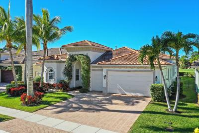Palm Beach Gardens Single Family Home For Sale: 223 Montant Drive