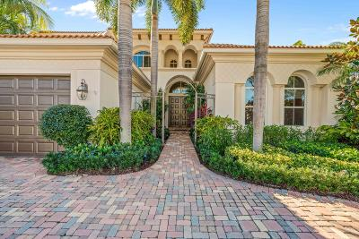Palm Beach Gardens Single Family Home For Sale: 536 Les Jardin Drive