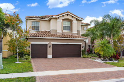 Boynton Beach Single Family Home For Sale: 8139 Santalo Cove Court