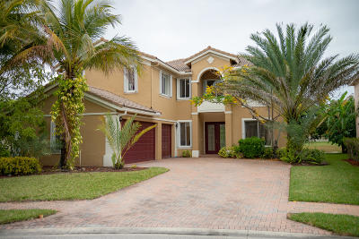 Royal Palm Beach Single Family Home For Sale: 116 Ibisca Terrace