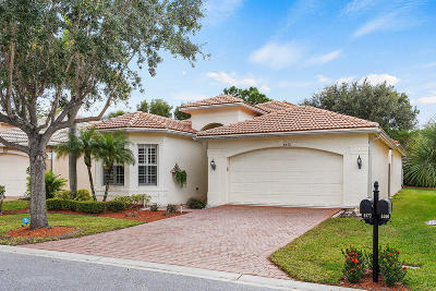 Boynton Beach Single Family Home For Sale: 8572 Breezy Oak Way