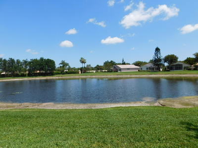 Boynton Beach Single Family Home For Sale: 6329 Coral Reef Terrace
