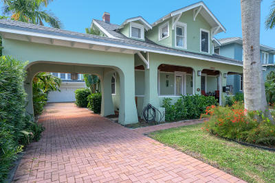 West Palm Beach Single Family Home For Sale: 1607 Georgia Avenue