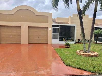 Boca Raton Single Family Home For Sale: 18801 Jolson Avenue #3