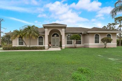 West Palm Beach Single Family Home Contingent: 13929 Citrus Grove Boulevard
