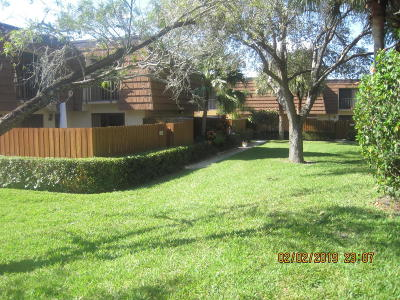 Jupiter Townhouse For Sale: 2706 27th Court #113c