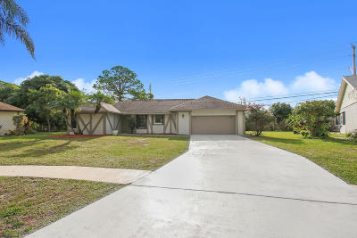 Delray Beach Single Family Home For Sale: 6094 SW Springdale Way