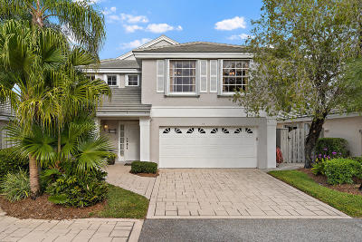 Palm Beach Gardens Single Family Home For Sale: 53 Admirals Court