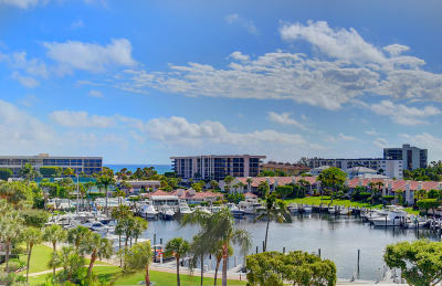 Yacht & Racquet Club Of Boca Raton, Yacht & Racquet Club Of Boca Raton Condo Condo For Sale: 2701 Ocean Boulevard #E605