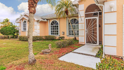 Fort Pierce Single Family Home For Sale: 6824 Bronte Circle