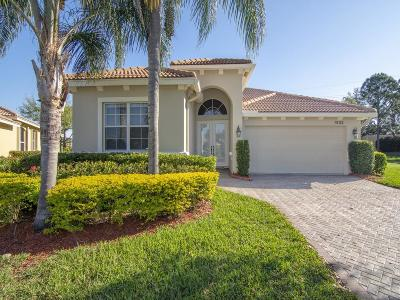 Port Saint Lucie Single Family Home For Sale: 9152 Short Chip Circle