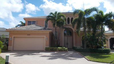 West Palm Beach Single Family Home Contingent: 3090 Eden Court