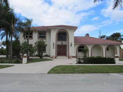 Lake Worth Single Family Home For Sale: 18 Duke Drive