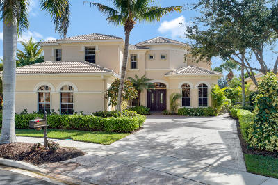 Palm Beach Gardens Single Family Home For Sale: 405 Via Placita