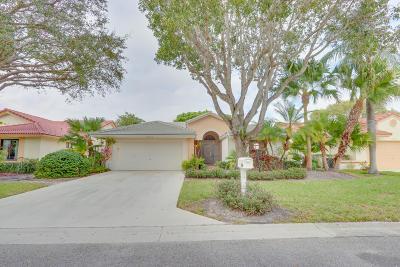 Boynton Beach Single Family Home For Sale: 4723 Sextant Circle