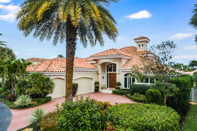 Jupiter Single Family Home For Sale: 3349 Bridgegate Drive