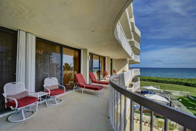 Palm Beach Condo For Sale: 3300 S Ocean Boulevard #301 S