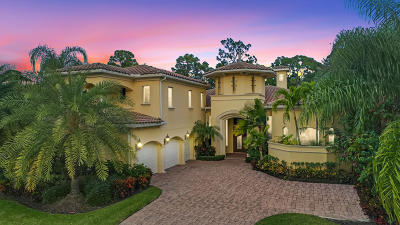 Palm Beach Gardens Single Family Home For Sale: 130 Via Quantera