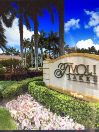 Tivoli Lakes, Tivoli Lakes Pud Single Family Home For Sale: 7158 Boscanni Drive