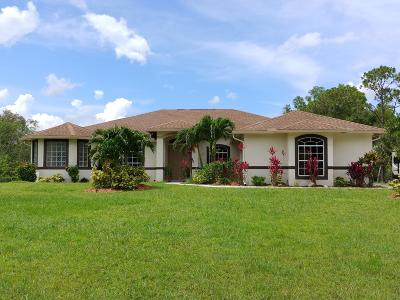 Jupiter Single Family Home For Sale: 11327 153rd Court