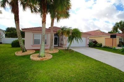 Boynton Beach Single Family Home For Sale: 8195 White Rock Circle