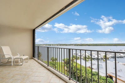 North Palm Beach Condo Contingent: 120 Lakeshore Drive #1035