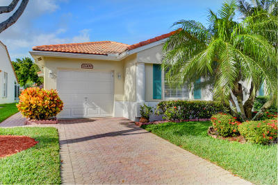 Delray Beach Single Family Home For Sale: 15309 Lake Wildflower Road
