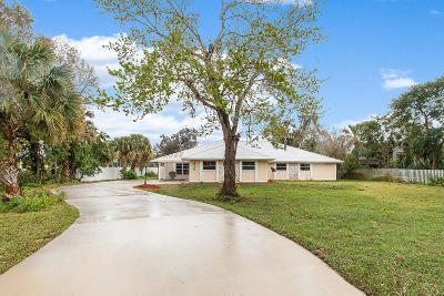 Palm City Single Family Home For Sale: 1840 SW Crane Creek Avenue