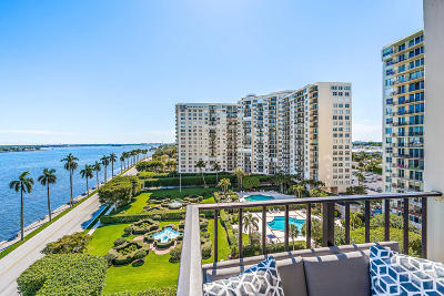 West Palm Beach Condo For Sale: 1701 S Flagler Drive #902