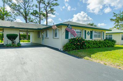 Delray Beach Single Family Home For Sale: 232 Cardinal Lane