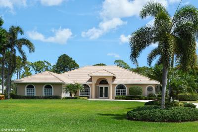 Port Saint Lucie Single Family Home For Sale: 7983 Plantation Lakes Drive