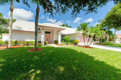 Lake Worth Single Family Home For Sale: 5961 Newport Village Way