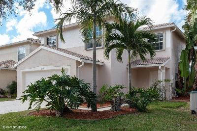 Lake Worth FL Single Family Home For Sale: $374,000