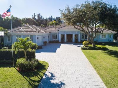 Palm Beach Gardens Single Family Home For Sale: 11135 Monet Lane