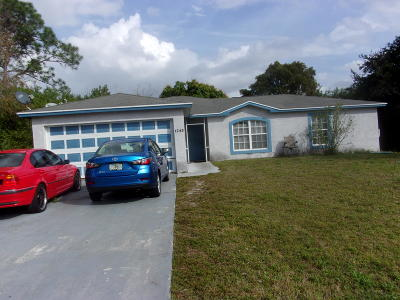Port Saint Lucie FL Single Family Home For Sale: $200,000