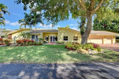 Delray Beach Single Family Home For Sale: 4869 Pineview Circle