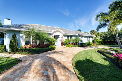 Delray Beach  Single Family Home For Sale: 434 Palm Trail