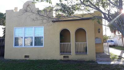 West Palm Beach Multi Family Home For Sale: 4712 Gardens Ave 1 Avenue #1