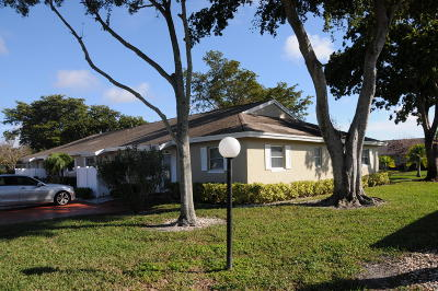 Boca Raton Single Family Home For Sale: 18818 Schooner Drive #11-D