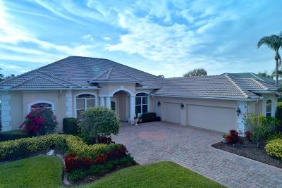 Port Saint Lucie Single Family Home For Sale: 8012 Plantation Lakes Drive