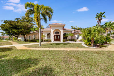 Wellington Single Family Home For Sale: 13550 Callington Drive